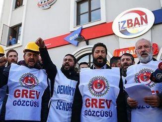 izban statement of the railroad union