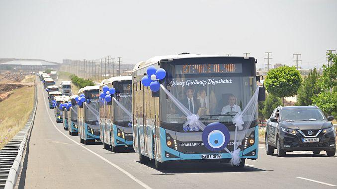 diyarbakir signed important services in big city transportation
