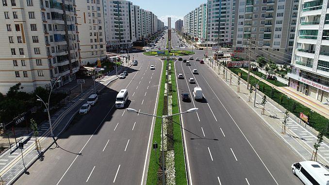 diyarbakirda 1 million 250 thousands of tons of hot asphalt broke down record