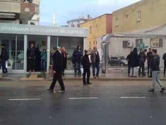 Diyarbakirda Klimali stop work continúa 2
