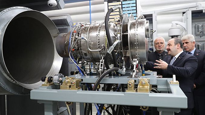 first national helicopter engine test was done in Eskisehir