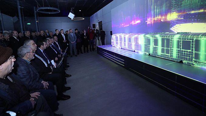 Gebze kbinle metro tour comenzó en un entorno virtual