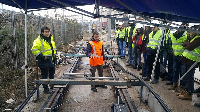 imo has made the last technical visit of the year to the tramway center