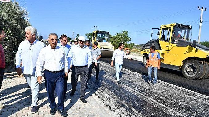 all time record in asphalt broke down in izmir