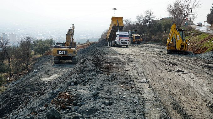 heromaras north-west road 3 stage work continues 3
