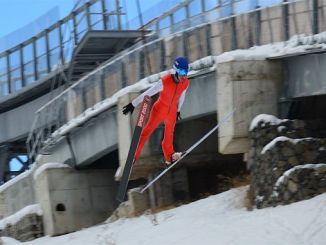 ski jump national team entered the camp
