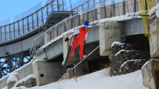 ski jump national team entered the camp