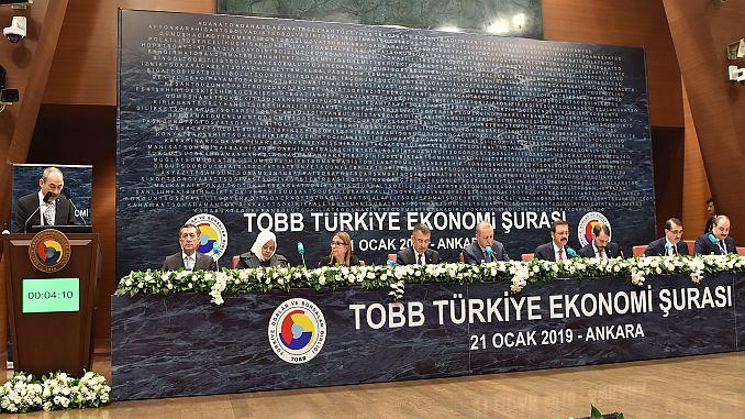 KTO president told the turkey economy demands Gulsoy suraya