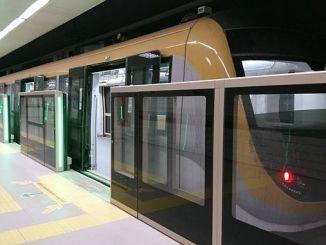 mecidiyekoy begynder at teste testbølge i mahmutbey metro