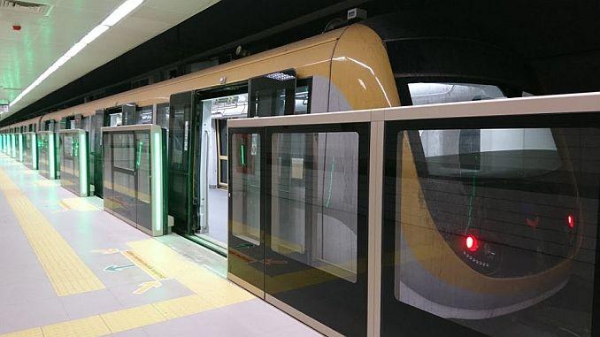 mecidiyekoy starts testing test surge in mahmutbey subway