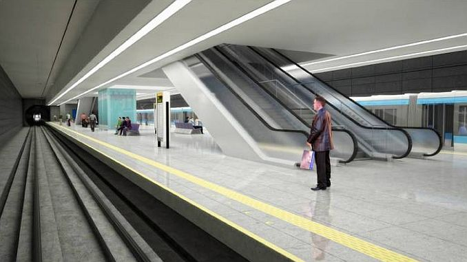 mersinde metro ile yilda 93 milyon yolcu tasinacak