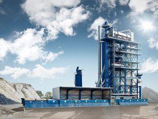 emaliseer asfaltproduksie wat in rize artvin provinsies gebruik sal word