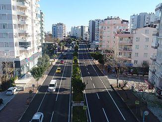 sinanoglu street er komfortabel og moderne transport