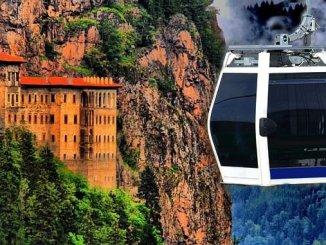 Seilbahnprojekt sumela manastiri zur Ausschreibung
