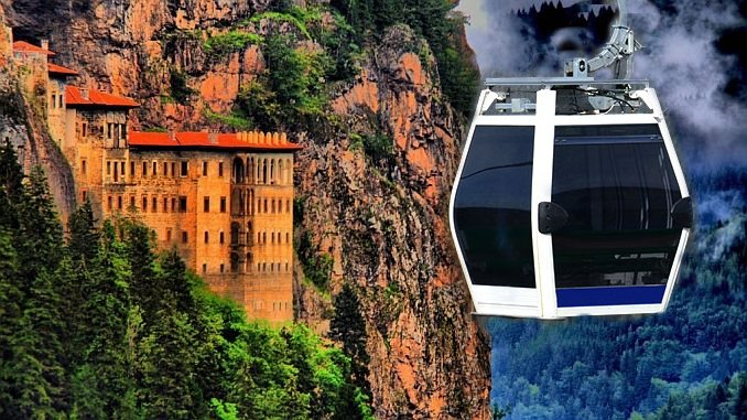 sumela manastiri ropeway projekt for bud