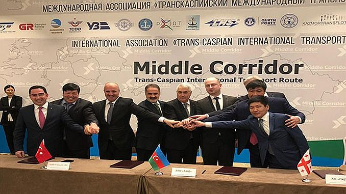 tcdd participates in the transport of trans-Caspian International Transport Association