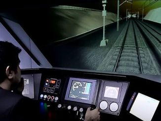 Anuncio de transporte tcdd para curso de maquina ferroviaria.