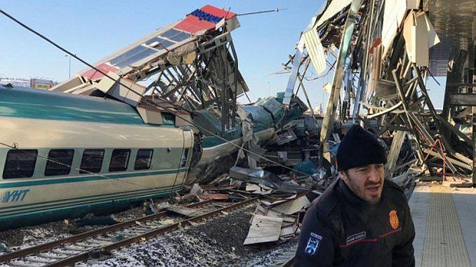 tcdd train accident 6 gun record after preparation