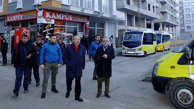 vanda minibus and bus stops