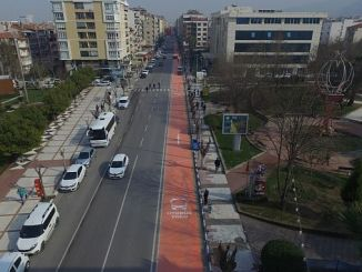 Transportation routes in Manisa