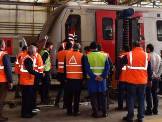 Work safety training for the personnel of rail systems