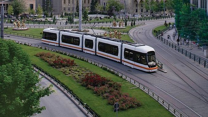 Eskisehir 3 asama tram project tram extension connection and additional warehouse lines
