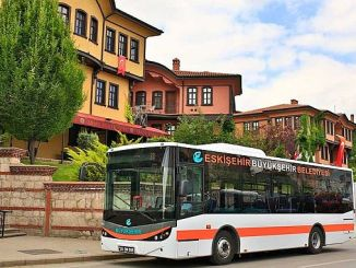 new bus to Eskisehir City Hospital Guzergahi