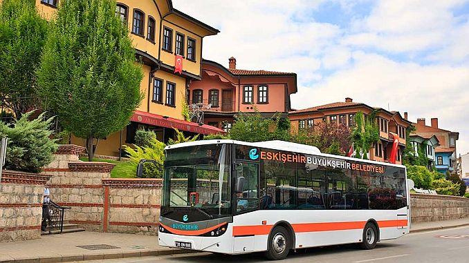 new bus to Eskisehir City Hospital Guzergahi