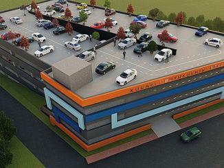 7 car parking garage of the gebzen