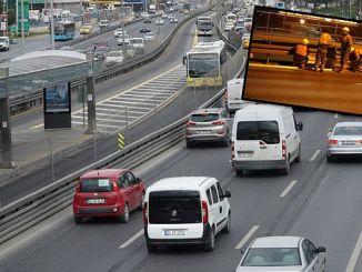 ibbden metrobus guzergahina حاجز مرن