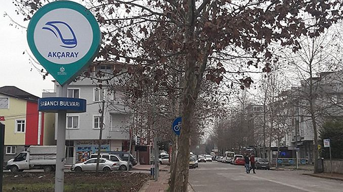 signage tramway