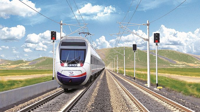construction of electrification plants for line cutting with karaman ulukisla