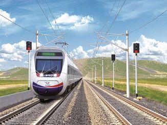 η ταχύτατη σιδηροδρομική γραμμή konya karaman ολοκληρώνεται φέτος