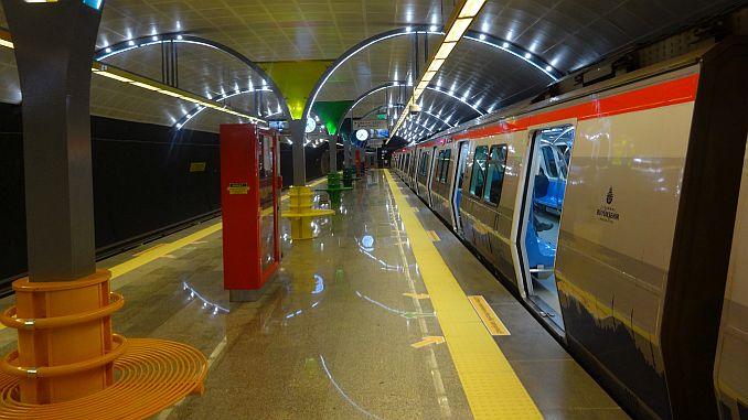 метро го зголемува квалитетот на станиците во Истанбул