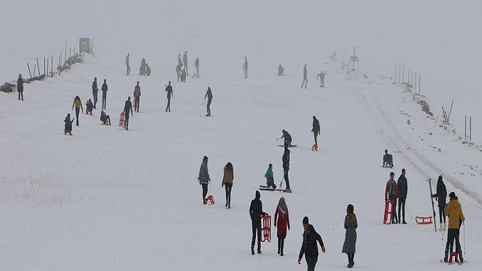 students yks stress at karacadag ski center