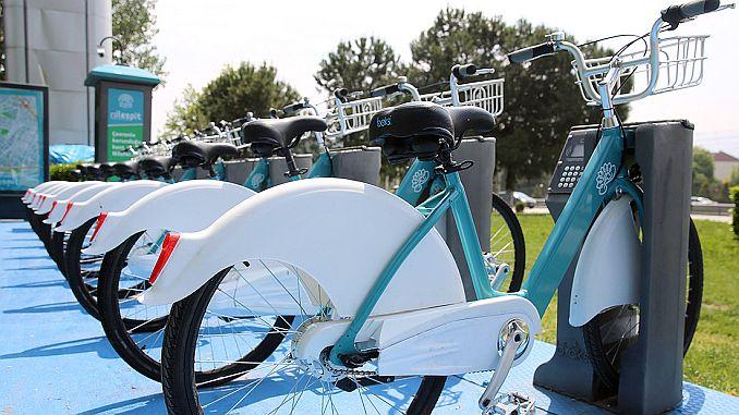 erection works for smart bikes in Sakarya