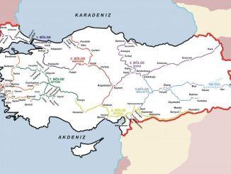 tcdd passenger transport map 2