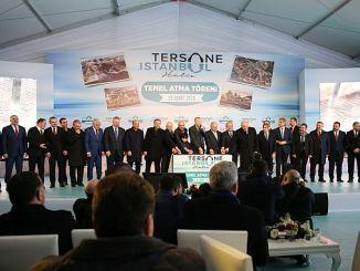 اسطنبول حوض بناء السفن الرائدة حفل