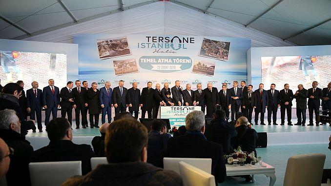 Istanbul Ceremonia e përurimit kantjerin