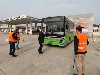 public transport bus bus professional qualification certificate tests continue