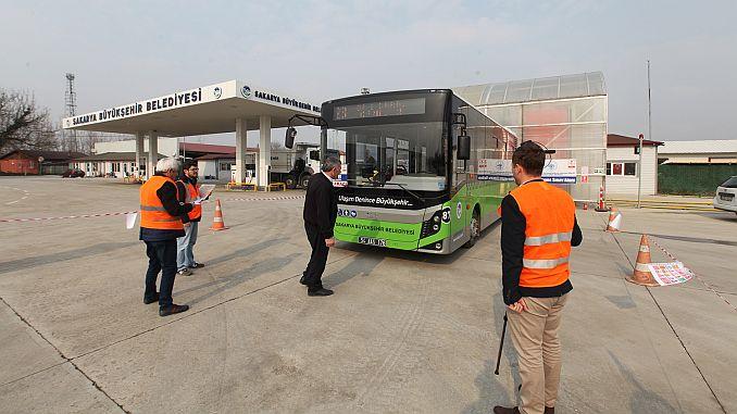 सार्वजनिक वाहतूक बस बस व्यावसायिक पात्रता प्रमाणपत्र परीक्षा सुरू