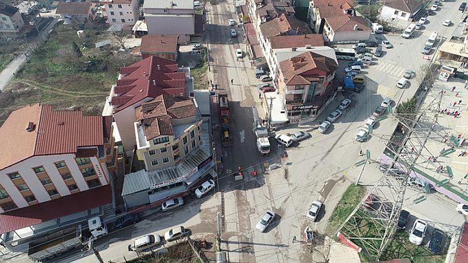 turan gunes caddesi yenileniyor