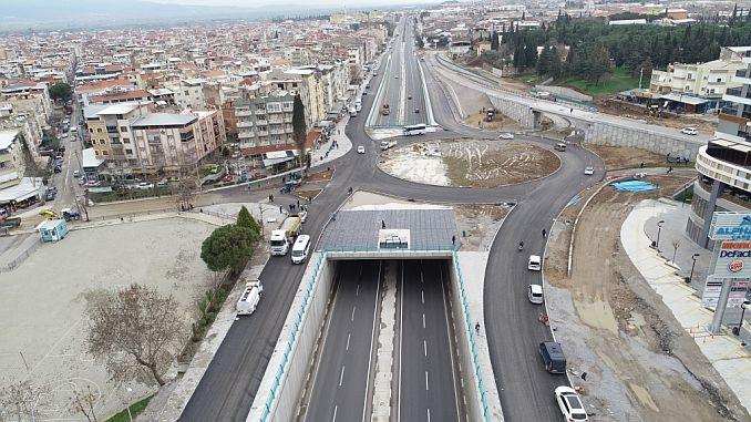 Turgutlu investime të mëdha të dy në donemi intensiv të transportit