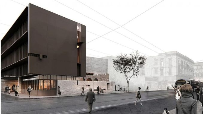 volcano architecture won the international architectural project competition