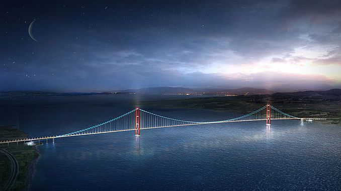 canakkale will be the number one bridge in the world