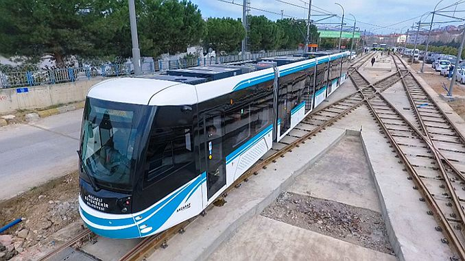 Akcaray Tram Project