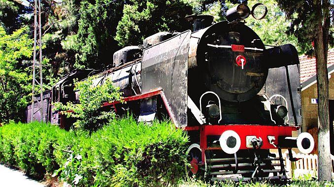 The 'Black Train' Exhibited in Burdur Train Station