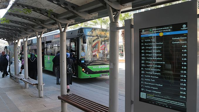bus stops with smart stops