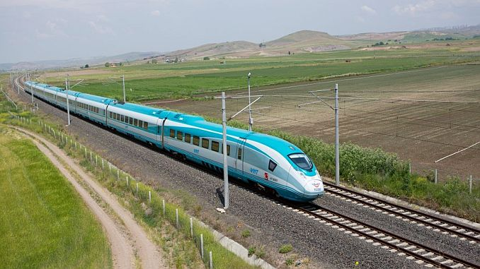 Der Turhan Speed Train ist bis zur nächsten Woche im Einsatz