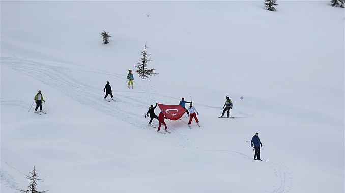 first alanya akdag ski festival was held